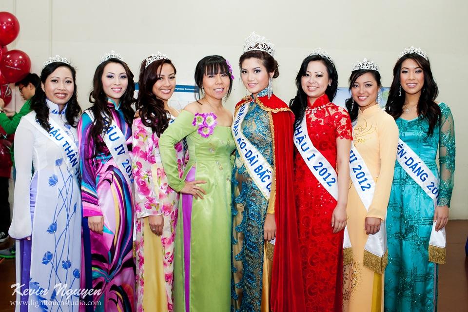 Hoi Tet 2012 - Hoa Hau Ao Dai Bac Cali 2012 - Quynh Phuong - Miss Vietnam of Northern California - Image 001