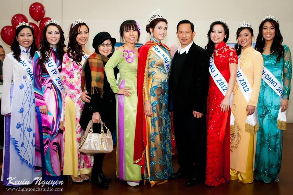Hoi Tet 2012 - Hoa Hau Ao Dai Bac Cali 2012 - Quynh Phuong - Miss Vietnam of Northern California - Image 002