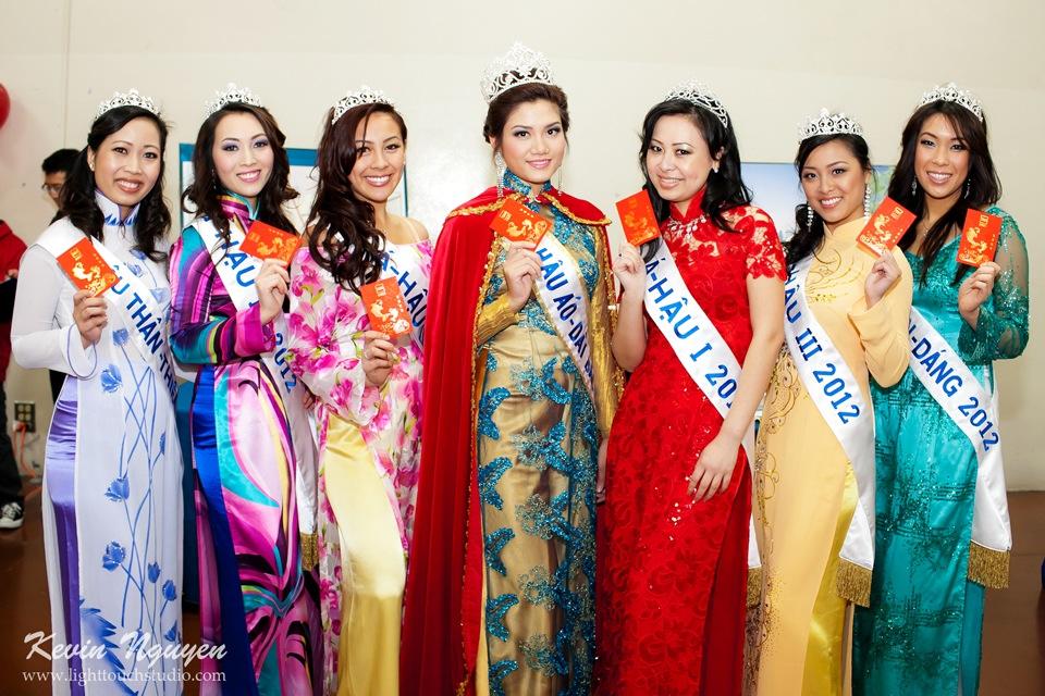 Hoi Tet 2012 - Hoa Hau Ao Dai Bac Cali 2012 - Quynh Phuong - Miss Vietnam of Northern California - Image 004