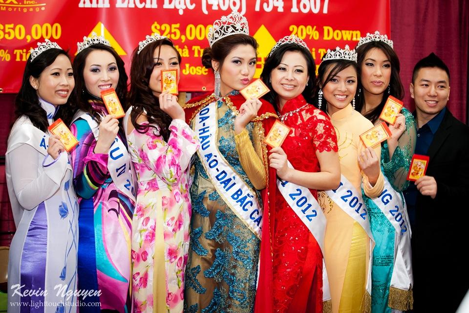 Hoi Tet 2012 - Hoa Hau Ao Dai Bac Cali 2012 - Quynh Phuong - Miss Vietnam of Northern California - Image 007