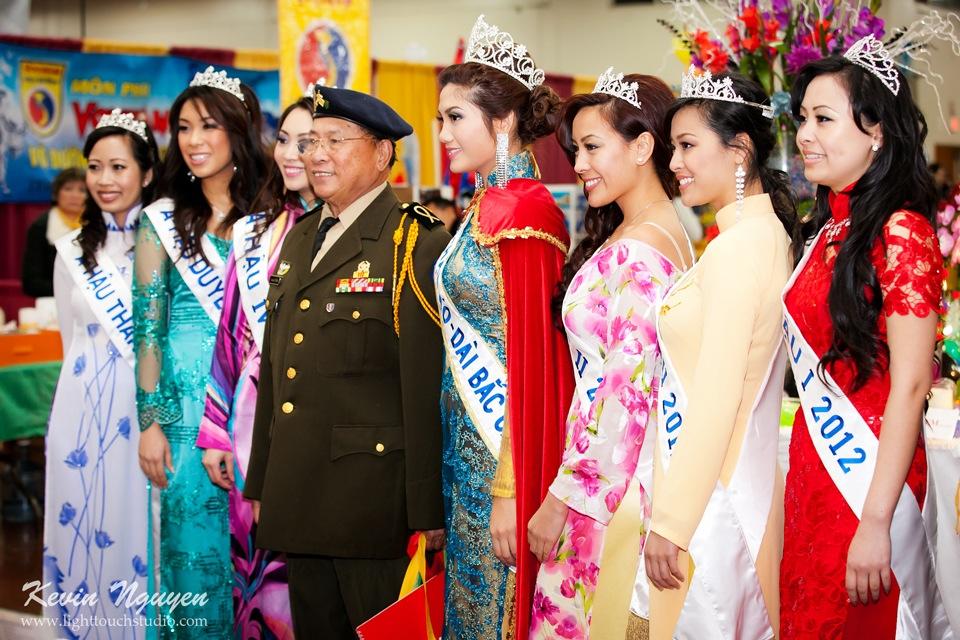 Hoi Tet 2012 - Hoa Hau Ao Dai Bac Cali 2012 - Quynh Phuong - Miss Vietnam of Northern California - Image 011