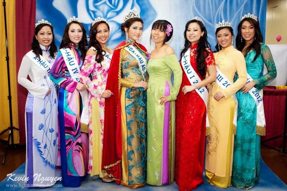 Hoi Tet 2012 - Hoa Hau Ao Dai Bac Cali 2012 - Quynh Phuong - Miss Vietnam of Northern California - Image 016