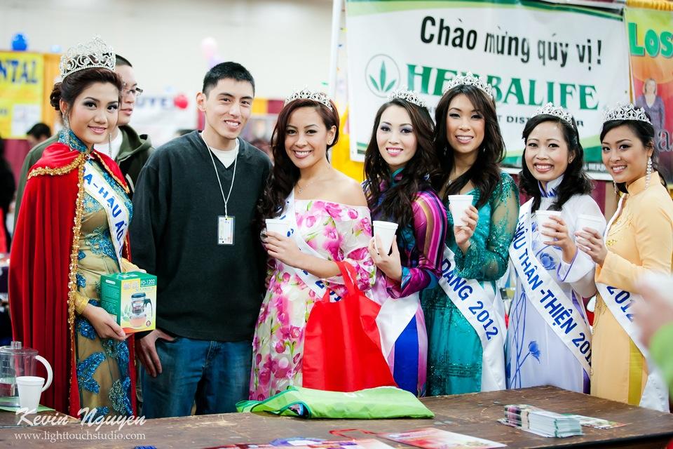 Hoi Tet 2012 - Hoa Hau Ao Dai Bac Cali 2012 - Quynh Phuong - Miss Vietnam of Northern California - Image 035