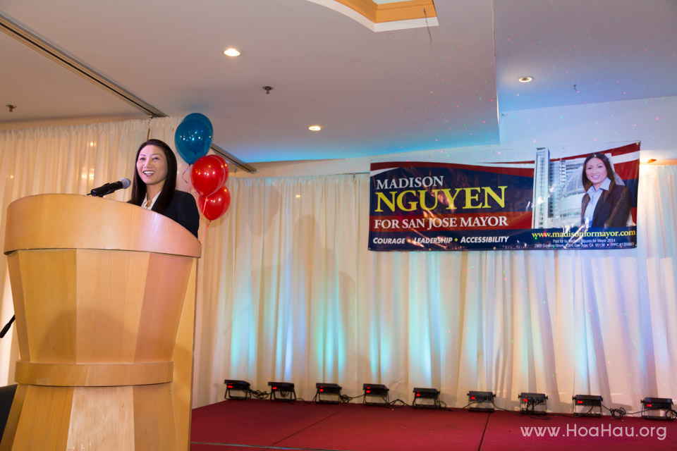 Madison Nguyen for San Jose Major Campaign Kick-off 2013 - Image 120