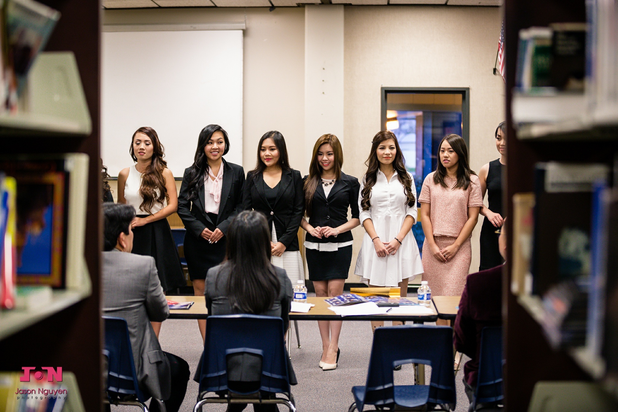 Miss Vietnam California 2016 Contestants Interview with the Judges - Image 112