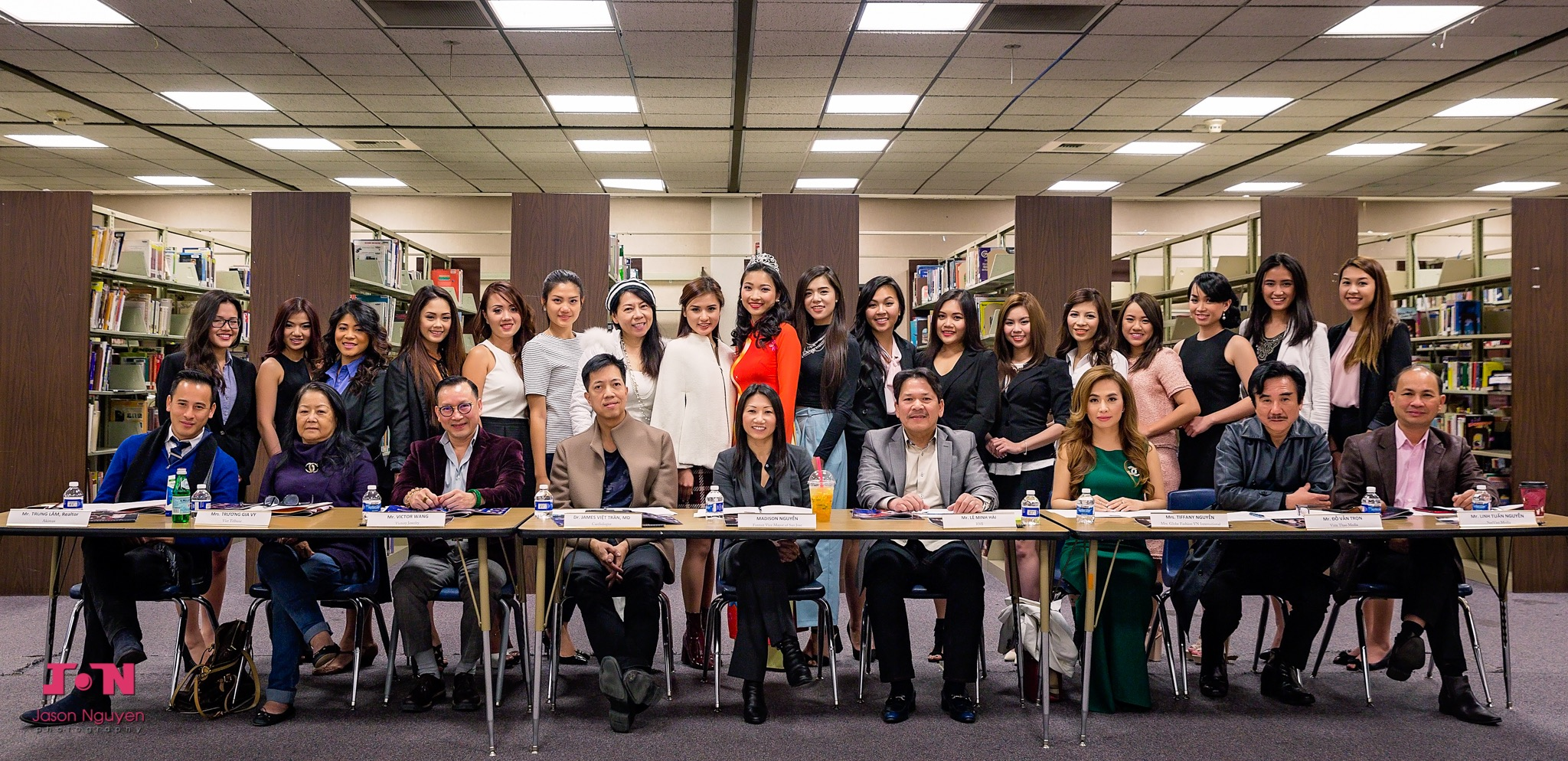 Miss Vietnam California 2016 Contestants Interview with the Judges - Image 115