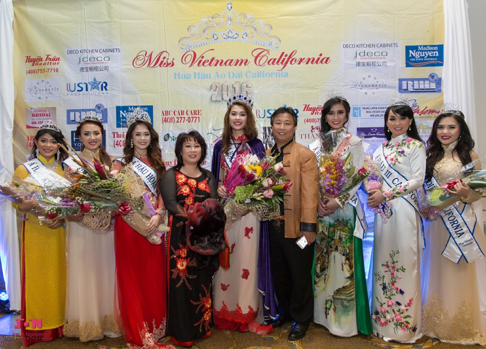 Miss Vietnam California 2016 - Pageant Day - Image 177
