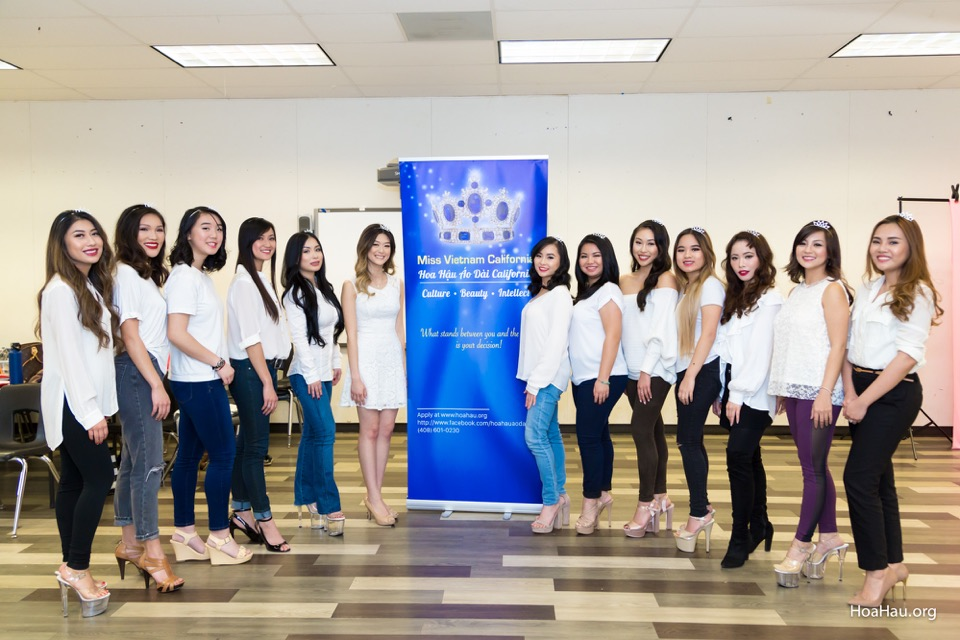Miss Vietnam California 2018 Practice on 01/06/18 - Image 101