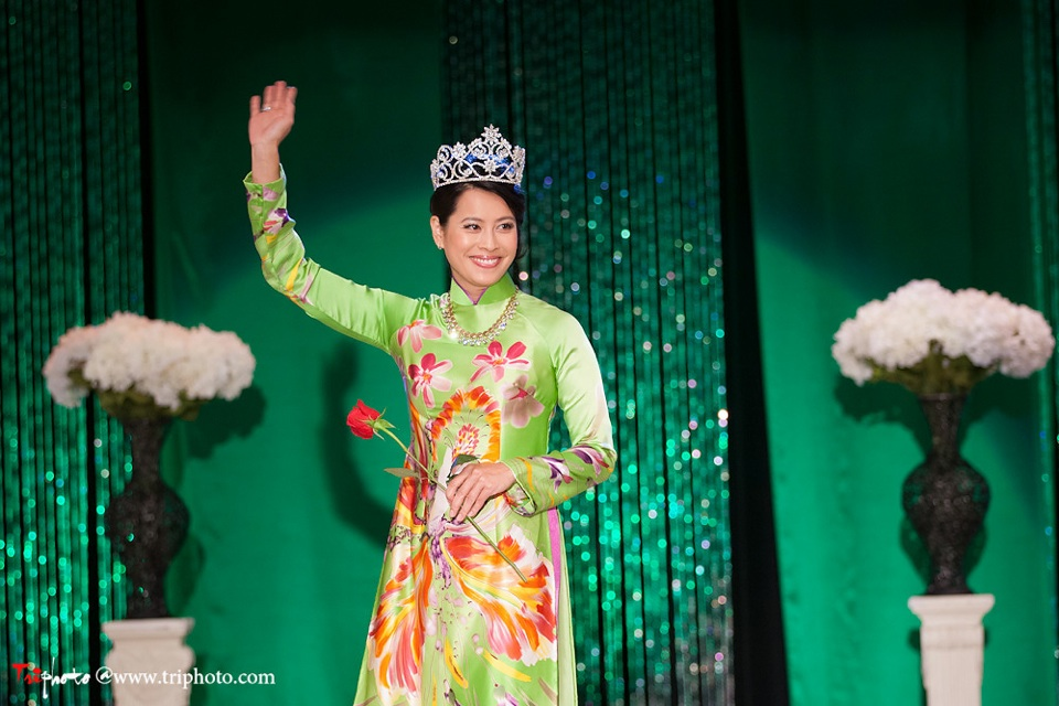 Miss Vietnam of Northern California 2012 Pageant - Hoa Hau Ao Dai Bac Cali 2012 - Image 028