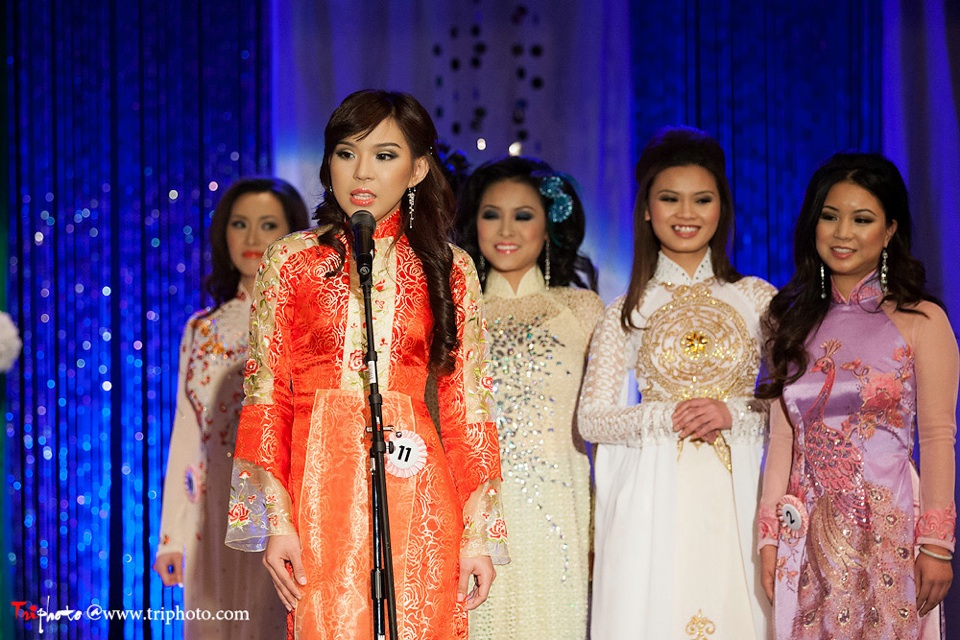 Miss Vietnam of Northern California 2012 Pageant - Hoa Hau Ao Dai Bac Cali 2012 - Image 039