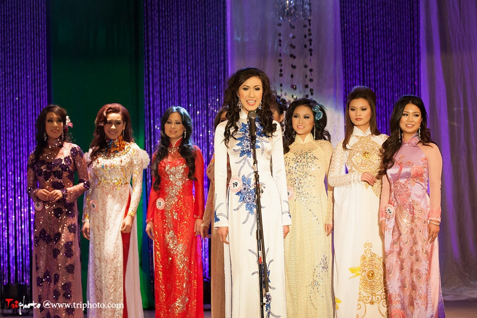 Miss Vietnam of Northern California 2012 Pageant - Hoa Hau Ao Dai Bac Cali 2012 - Image 040