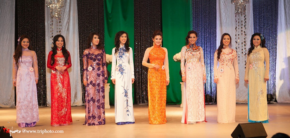 Miss Vietnam of Northern California 2012 Pageant - Hoa Hau Ao Dai Bac Cali 2012 - Image 121
