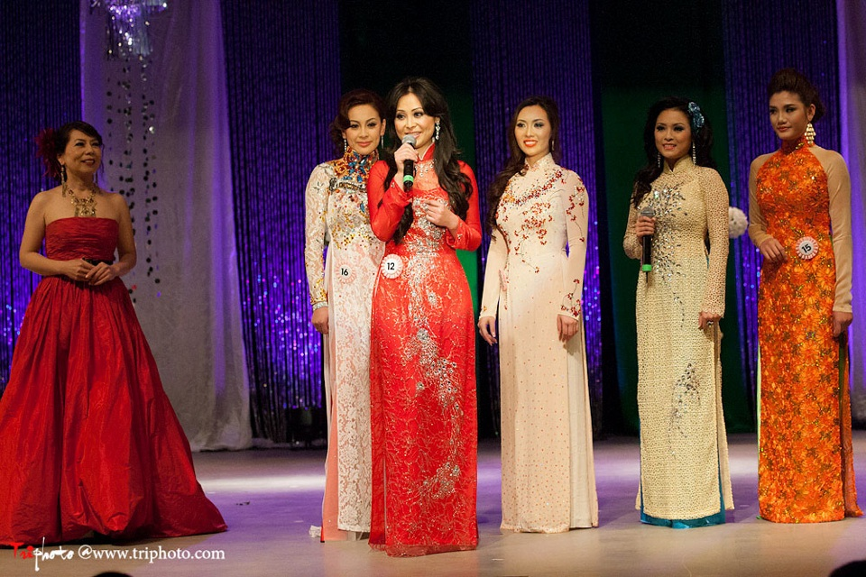 Miss Vietnam of Northern California 2012 Pageant - Hoa Hau Ao Dai Bac Cali 2012 - Image 125