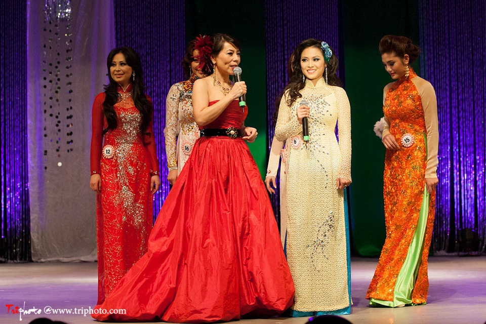 Miss Vietnam of Northern California 2012 Pageant - Hoa Hau Ao Dai Bac Cali 2012 - Image 126