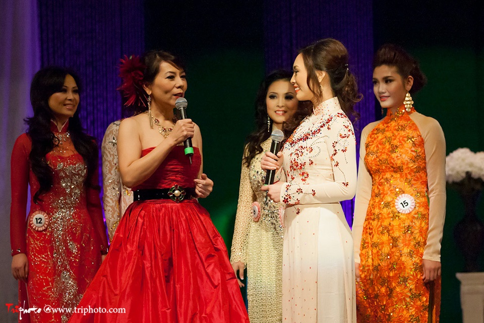 Miss Vietnam of Northern California 2012 Pageant - Hoa Hau Ao Dai Bac Cali 2012 - Image 130