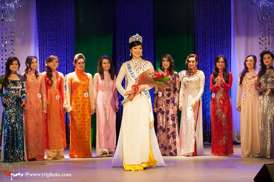 Miss Vietnam of Northern California 2012 Pageant - Hoa Hau Ao Dai Bac Cali 2012 - Image 133