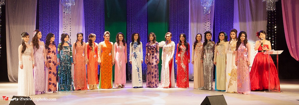 Miss Vietnam of Northern California 2012 Pageant - Hoa Hau Ao Dai Bac Cali 2012 - Image 136