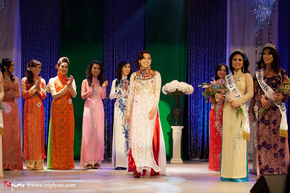Miss Vietnam of Northern California 2012 Pageant - Hoa Hau Ao Dai Bac Cali 2012 - Image 147