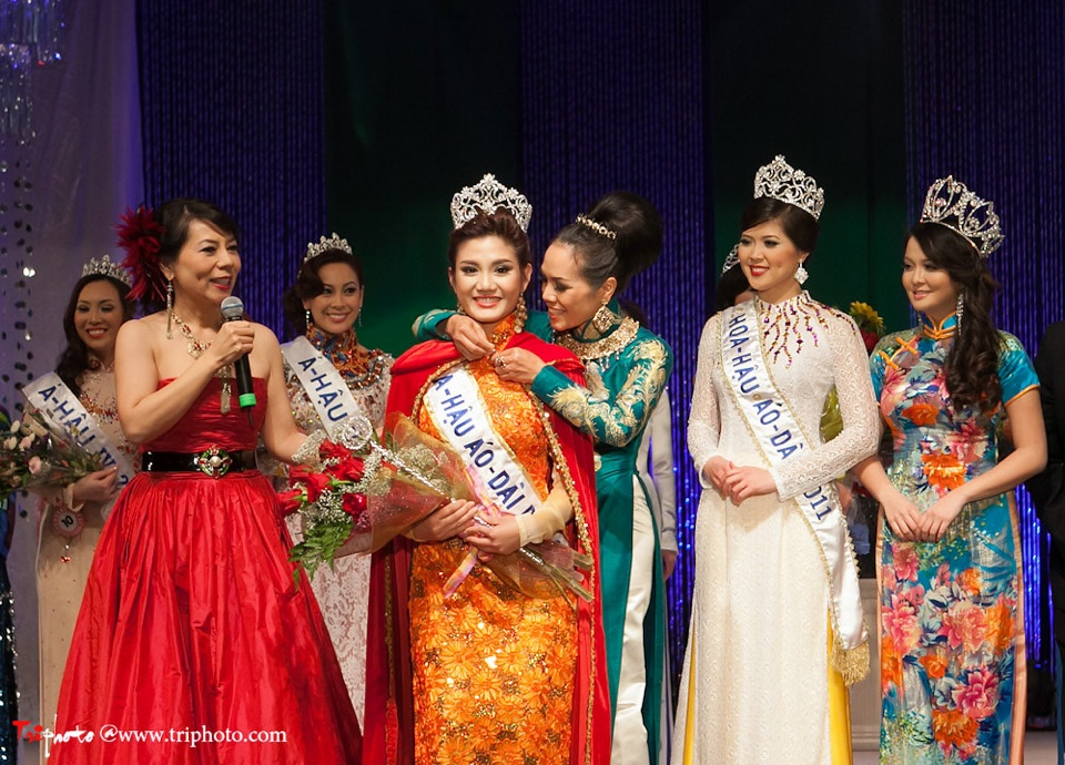 Miss Vietnam of Northern California 2012 Pageant - Hoa Hau Ao Dai Bac Cali 2012 - Image 163