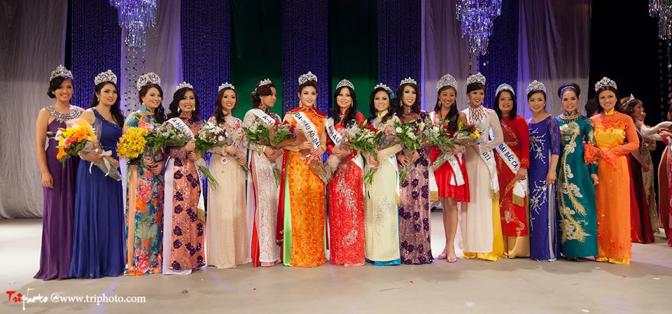 Miss Vietnam of Northern California 2012 Pageant - Hoa Hau Ao Dai Bac Cali 2012 - Image 169