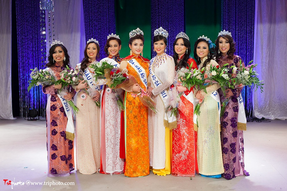 Miss Vietnam of Northern California 2012 Pageant - Hoa Hau Ao Dai Bac Cali 2012 - Image 170