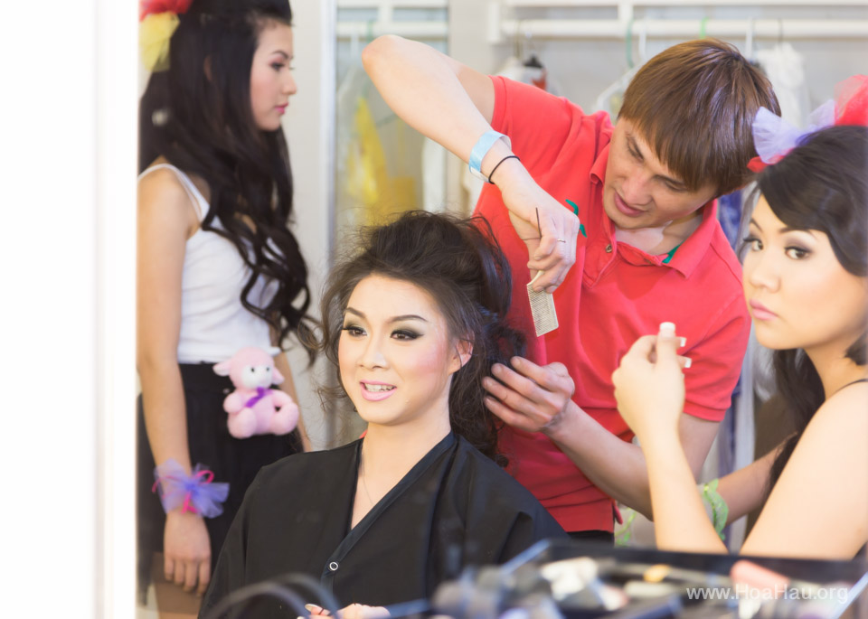 Miss Vietnam of Northern California 2014 - Hoa Hau Ao Dai Bac Cali 2014 - Behind the Scenes - Image 172