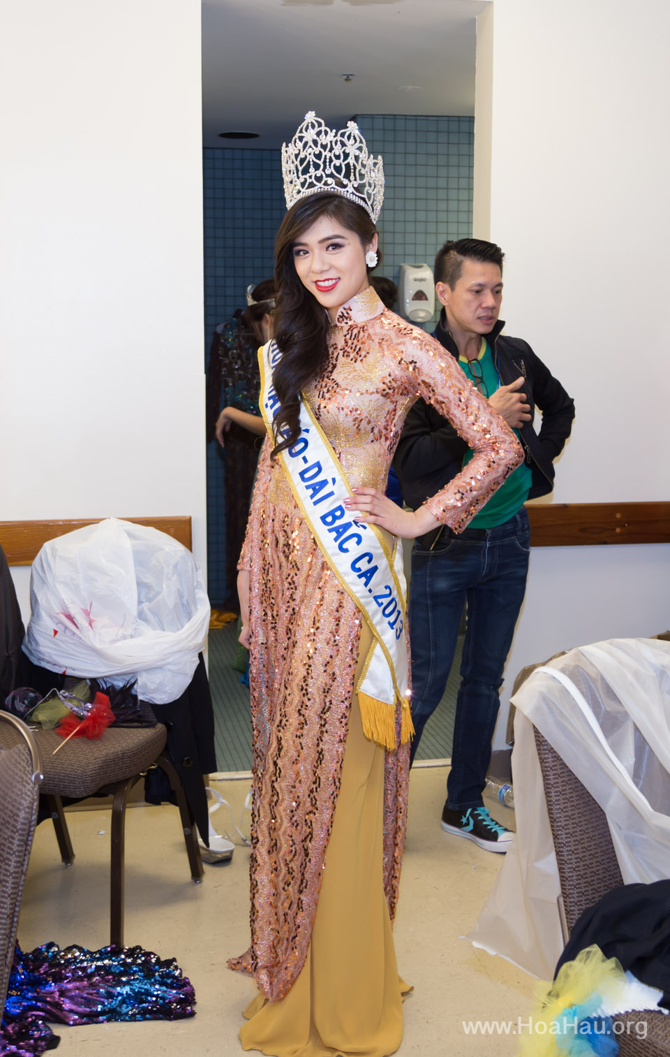 Miss Vietnam of Northern California 2014 - Hoa Hau Ao Dai Bac Cali 2014 - Behind the Scenes - Image 207