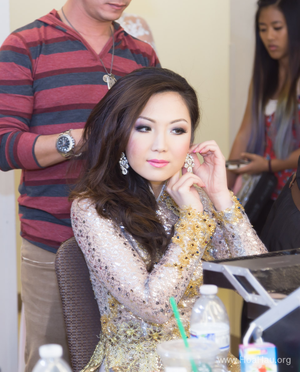 Miss Vietnam of Northern California 2014 - Hoa Hau Ao Dai Bac Cali 2014 - Behind the Scenes - Image 219