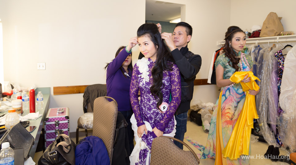 Miss Vietnam of Northern California 2014 - Hoa Hau Ao Dai Bac Cali 2014 - Behind the Scenes - Image 225