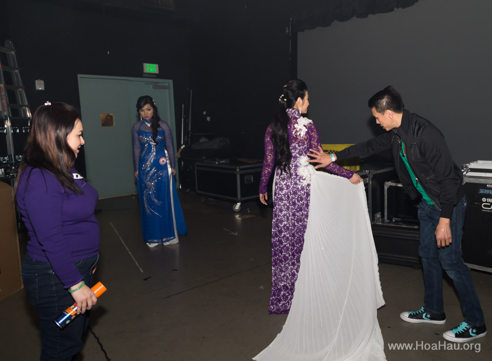 Miss Vietnam of Northern California 2014 - Hoa Hau Ao Dai Bac Cali 2014 - Behind the Scenes - Image 232