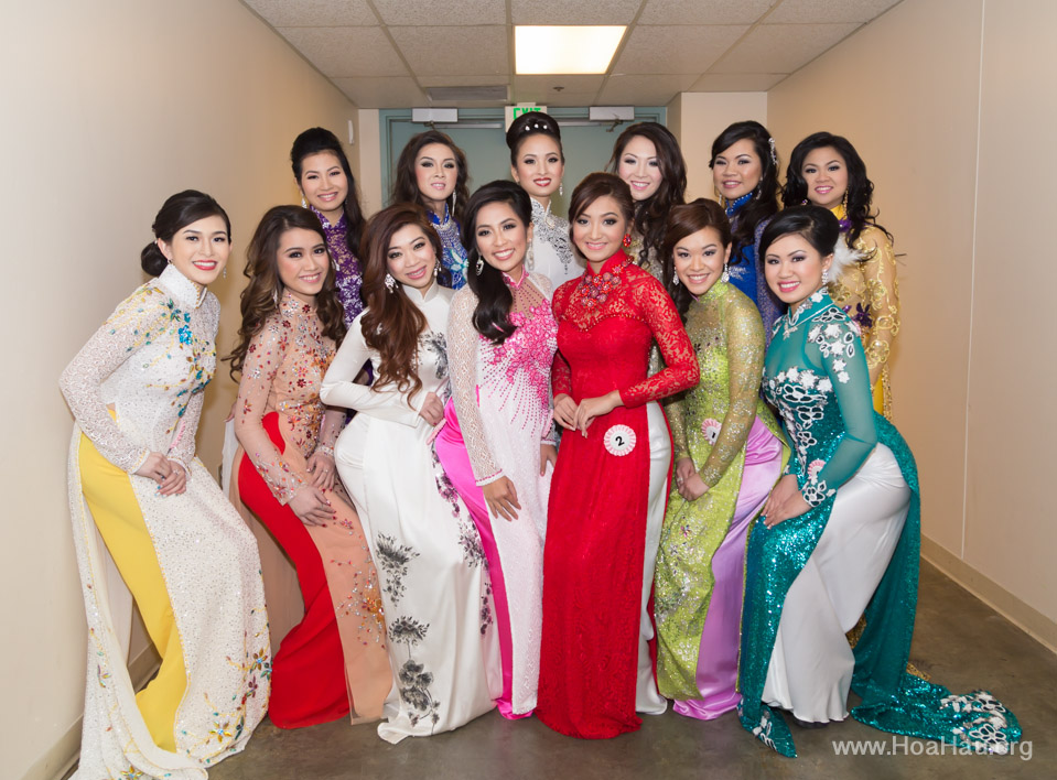 Miss Vietnam of Northern California 2014 - Hoa Hau Ao Dai Bac Cali 2014 - Behind the Scenes - Image 239