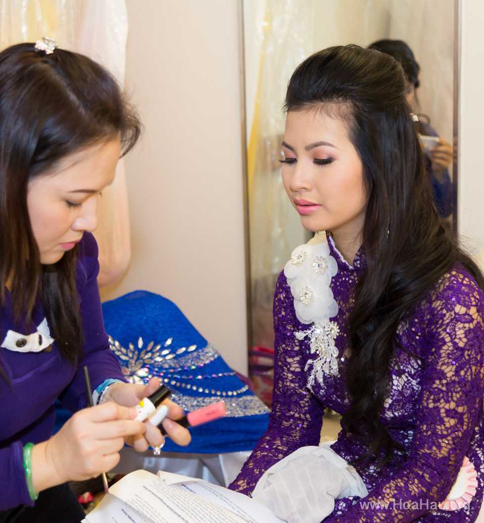 Miss Vietnam of Northern California 2014 - Hoa Hau Ao Dai Bac Cali 2014 - Behind the Scenes - Image 253