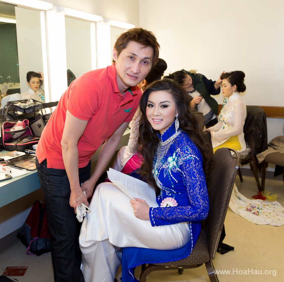Miss Vietnam of Northern California 2014 - Hoa Hau Ao Dai Bac Cali 2014 - Behind the Scenes - Image 255