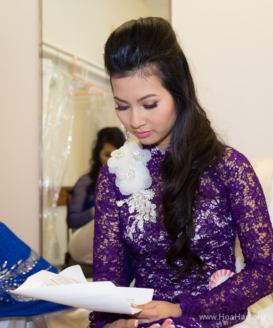 Miss Vietnam of Northern California 2014 - Hoa Hau Ao Dai Bac Cali 2014 - Behind the Scenes - Image 259