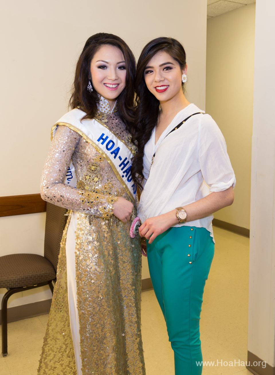 Miss Vietnam of Northern California 2014 - Hoa Hau Ao Dai Bac Cali 2014 - Behind the Scenes - Image 333