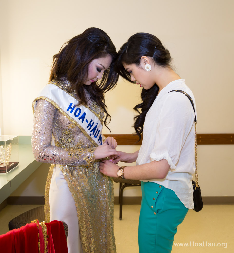 Miss Vietnam of Northern California 2014 - Hoa Hau Ao Dai Bac Cali 2014 - Behind the Scenes - Image 334