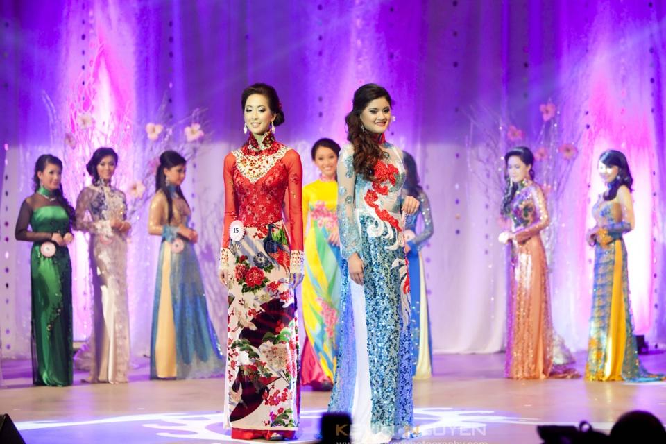 Miss Vietnam - Hoa Hau Ao Dai Bac Cali 2010 - Pageant Day - Image 042