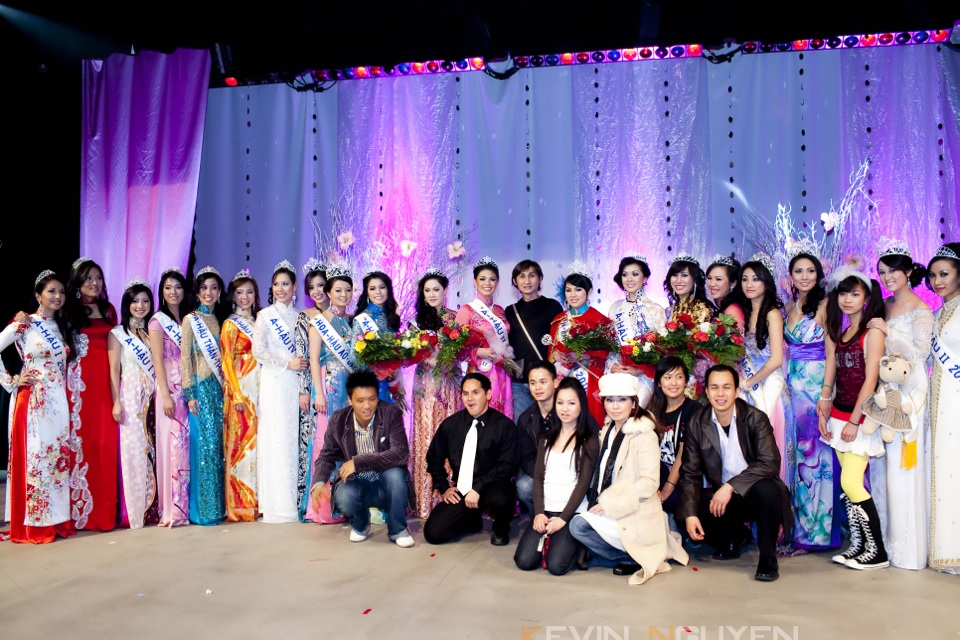 Miss Vietnam - Hoa Hau Ao Dai Bac Cali 2010 - Pageant Day - Image 134