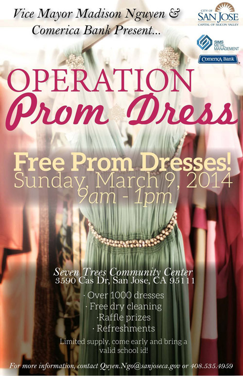 Operation Prom Dress 2014 - San Jose, CA