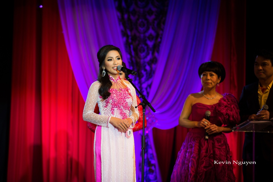 Hoa Hau Ao Dai Bac Cali 2014 - Pageant Day - Image 406