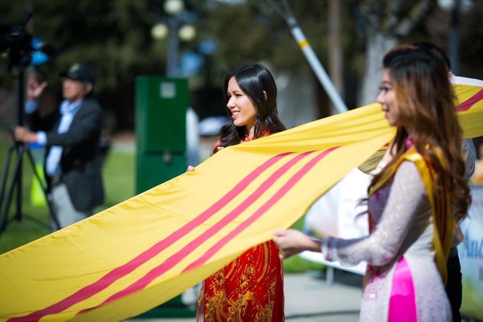 Tết Festival at Kelley Park, San Jose CA - Hoa Hậu Áo Dài Bắc Cali 2015 - Image 103