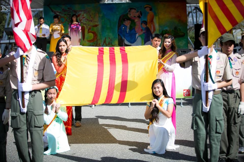 Tết Festival at Kelley Park, San Jose CA - Hoa Hậu Áo Dài Bắc Cali 2015 - Image 112