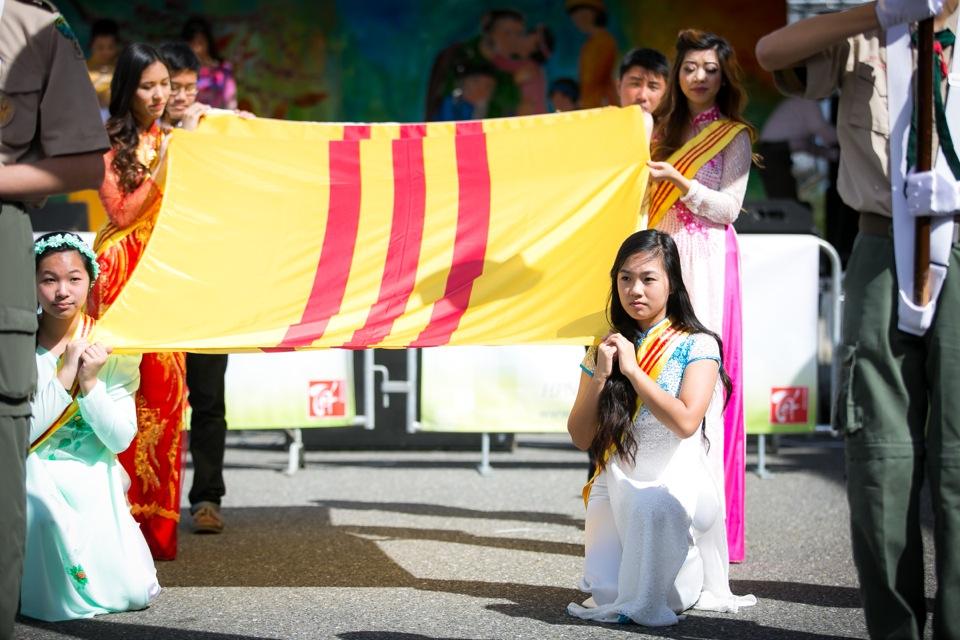 Tết Festival at Kelley Park, San Jose CA - Hoa Hậu Áo Dài Bắc Cali 2015 - Image 114