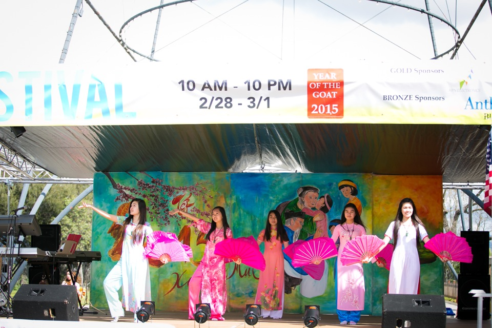 Tết Festival at Kelley Park, San Jose CA - Hoa Hậu Áo Dài Bắc Cali 2015 - Image 119