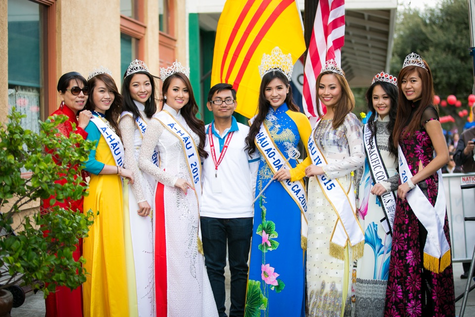 Tết Festival at Kelley Park, San Jose CA - Hoa Hậu Áo Dài Bắc Cali 2015 - Image 136