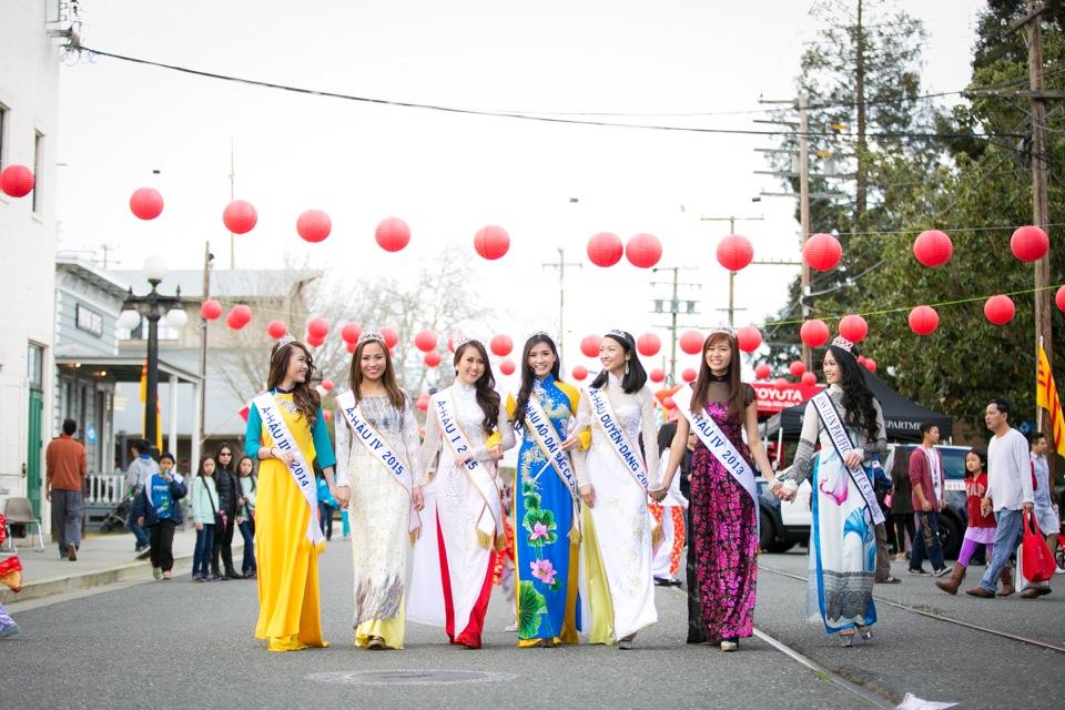Tết Festival at Kelley Park, San Jose CA - Hoa Hậu Áo Dài Bắc Cali 2015 - Image 141