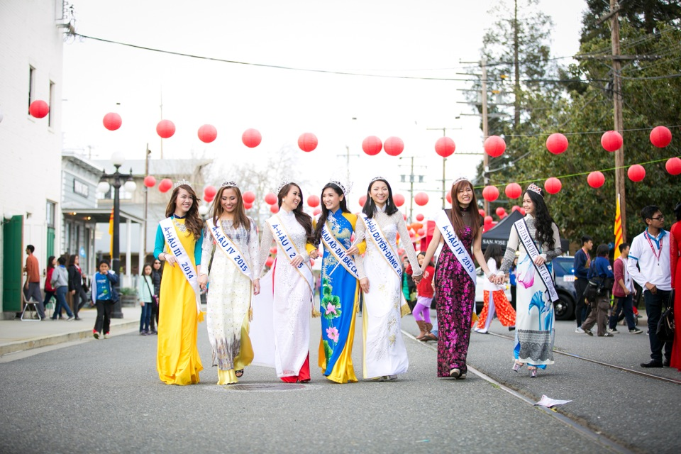 Tết Festival at Kelley Park, San Jose CA - Hoa Hậu Áo Dài Bắc Cali 2015 - Image 142