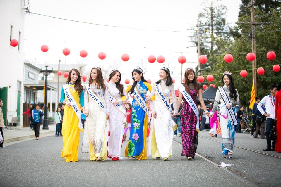 Tết Festival at Kelley Park, San Jose CA - Hoa Hậu Áo Dài Bắc Cali 2015 - Image 143