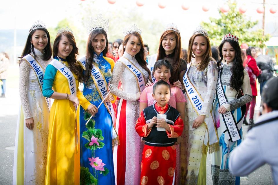 Tết Festival at Kelley Park, San Jose CA - Hoa Hậu Áo Dài Bắc Cali 2015 - Image 150