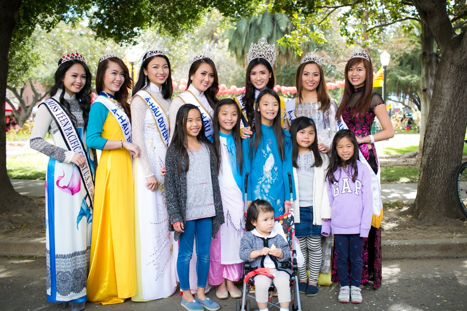 Tết Festival at Kelley Park, San Jose CA - Hoa Hậu Áo Dài Bắc Cali 2015 - Image 156